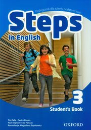 Steps In English 3 Student's Book PL, Falla Tim, Davies Paul, Shipton Paul, Palczak Ewa
