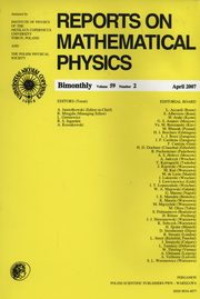 Reports on Mathematical Physics 59/2,