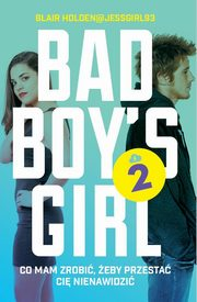 ksiazka tytuł: Bad Boy's Girl 2 autor: Holden Blair