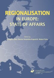Regionalisation in Europe: The State of Affairs - 05